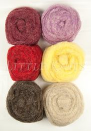 Bartlett Yarns Roving Six Pack - Assorted #9