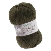 West Yorkshire Spinners Bluefaced Leicester Aran - Avacado Green (Color #350) - FULL BAG SALE (5 Skeins)