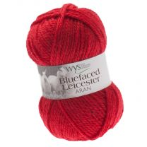 West Yorkshire Spinners Bluefaced Leicester Aran - Cherry (Color #550)