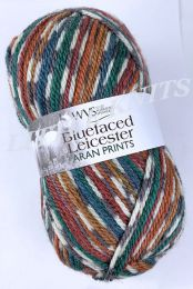 WYS Bluefaced Leicester Aran Prints - Pheasant Print (Color #855)