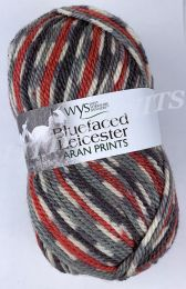 WYS Bluefaced Leicester Aran Prints - Bullfinch (Color #861)