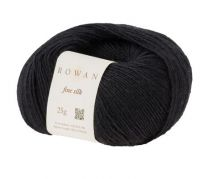 Rowan Fine Silk - Black (Color #110)