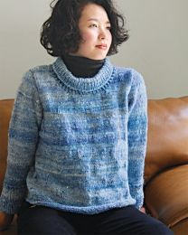Block Texture Pullover - FREE Purchase of Noro Tennen (One free pattern per purchase please)