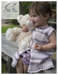 Blossom - Free with Purchase of 2 Skeins of Ella Rae Phoenix DK Prints (PDF File)