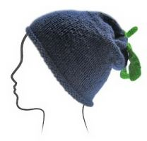 Euro Baby Fruits & Veggies Hat Kits - Blueberry (Color #05) - Knitting Pattern