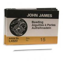 John James Beading Needles - Size #15
