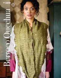Berroco Quechua Book #389 - Free with Purchases of 5 or More Skeins of Quechua (Please add it to your cart)