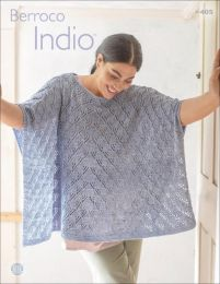 Berroco Indio Pattern Book #405 - Price is for the whole book