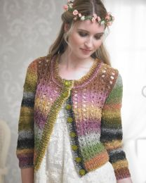 Bouquet Cardigan- This pattern is included in the Noro Boutique Book (Price is for the whole book)