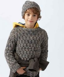 Boy's Sweater with Hat Pattern (Purchase ONLY ONE COPY to get all the patterns from SMC Inspiration - 60)