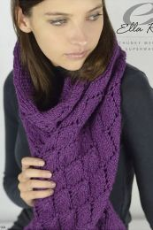 Bridget Scarf - Free With Purchases of 4 Skeins of Cozy Soft Chunky (PDF File)