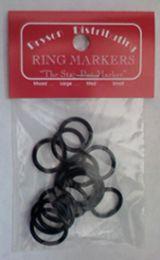 Bryson Ring Markers - Large Assorted Black
