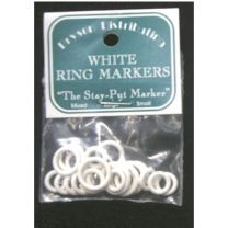 Bryson Ring Markers - Large Assorted White