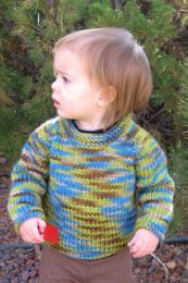 Knitting Pure and Simple - Bulky Baby Pullover