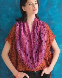 Buttonhole Cowl (Free Download with Noro Kagayaki Purchase of 5 or more skeins)