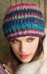 Cabled Cap - Free with Purchases of 2 Skeins of Noro SIlk Garden (Pdf File)