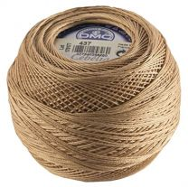 Cebelia Crochet Thread Size 10 - Light Camel (Color #437)