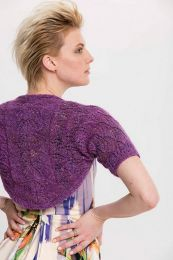 Leaf-Lace Shrug - Free Download with Silk Garden Lite Solo Purchase of 4 or more skeins