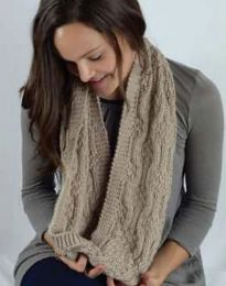 Mosaic Scarf - FREE WITH PURCHASES OF 3 SKEINS OF COZY SOFT CHUNKY