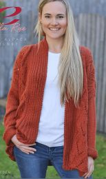 Hambleden Cardigan  - A Cozy Alpaca Chunky Pattern - FREE WITH PURCHASES OF 10 SKEINS OF COZY ALPACA CHUNKY