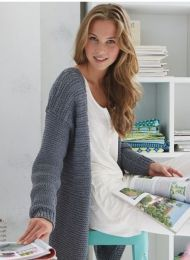Cardigan - Included in SMC Inspiration No. 82 Book - Free with purchase of 10 skeins or two bags of Journey/One per person please