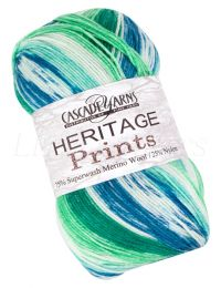 Cascade Heritage Prints - Blue Green (Color #44)