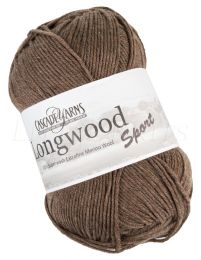 Cascade Longwood Sport - Walnut Heather (Color #42)
