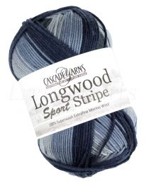 Cascade Longwood Sport Stripe - Denim (Color #501)