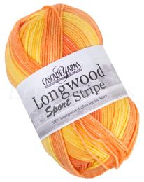 Cascade Longwood Sport Stripe - Oranges (Color #503)