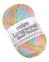 Cascade Longwood Sport Stripe - Pastels (Color #504)