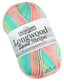 Cascade Longwood Sport Stripe - Candy (Color #508)