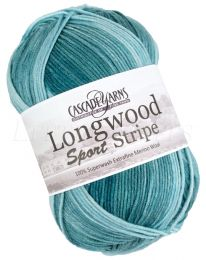 Cascade Longwood Sport Stripe - Sky (Color #509)