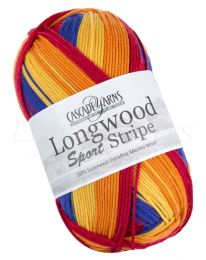 Cascade Longwood Sport Stripe - Primary (Color #515)