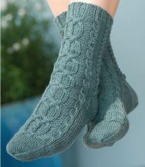 Regia Premium Silk - Caserta Socks - FREE PATTERN LINK TO DOWNLOAD IN DESCRIPTION (No Need to add to Cart)