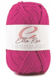 Ella Rae Cashmereno Sport - Azalea (Color #23) - FULL BAG SALE (5 Skeins) - Color Softer than Picture