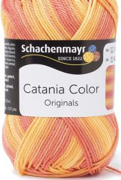 Schachenmayr Catania Color - Sunset (Color #228) - FULL BAG SALE (5 Skeins)