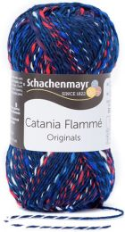 Schachenmayr Catania Flamme - Marine (Color #124) - FULL BAG SALE (5 Skeins)