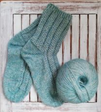 Regia Premium Alpaca Soft - Chantilly Socks - FREE PATTERN LINK TO DOWNLOAD IN DESCRIPTION (No Need to add to Cart)