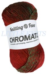 Chromatic - Mary Ellen Jasper (Color #1014) - Deep Reds, Emerald Greens, Plum Purple, Occasional Chocolate Brown