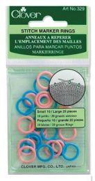 Clover Stitch Ring Markers (Item #329)