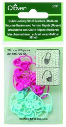 Clover Quick Locking Stitch Marker - Medium (Item #3031)