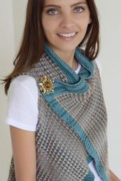 Como Vest - FREE with Purchases of 5 Skeins/One Bag of Sun Kissed (Please add to cart to receive)