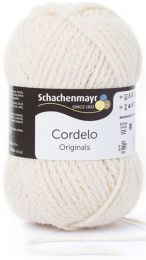 Schachenmayr Cordelo - Cream (Color #02) - FULL BAG SALE (5 Skeins)