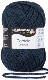 Schachenmayr Cordelo - Indigo (Color #50) - FULL BAG SALE (5 Skeins)