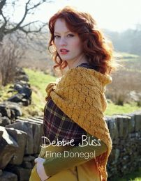 Debbie Bliss Fine Donegal - features 13 Romantic Knits