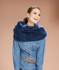 Moments 007 Pattern Book - Ladies Loop Scarf & Leg Warmers - A Diverso Pattern