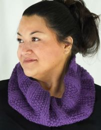 Cascade Miraflores - Seed and Rib Cowl - FREE PATTERN LINK TO DOWNLOAD IN DESCRIPTION (No Need to add to Cart)
