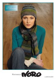 Cowslip Hat and Scarf - Free with Purchases of 2 Skeins of Noro SIlk Garden (Pdf File)