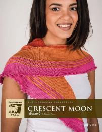 Crescent Moon Shawl - (Free Download with a Findley DK purchase of 3 or more skeins)