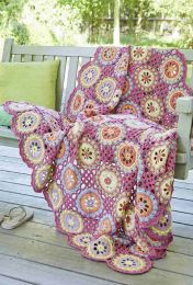 Crochet Pillow and Seat Cover